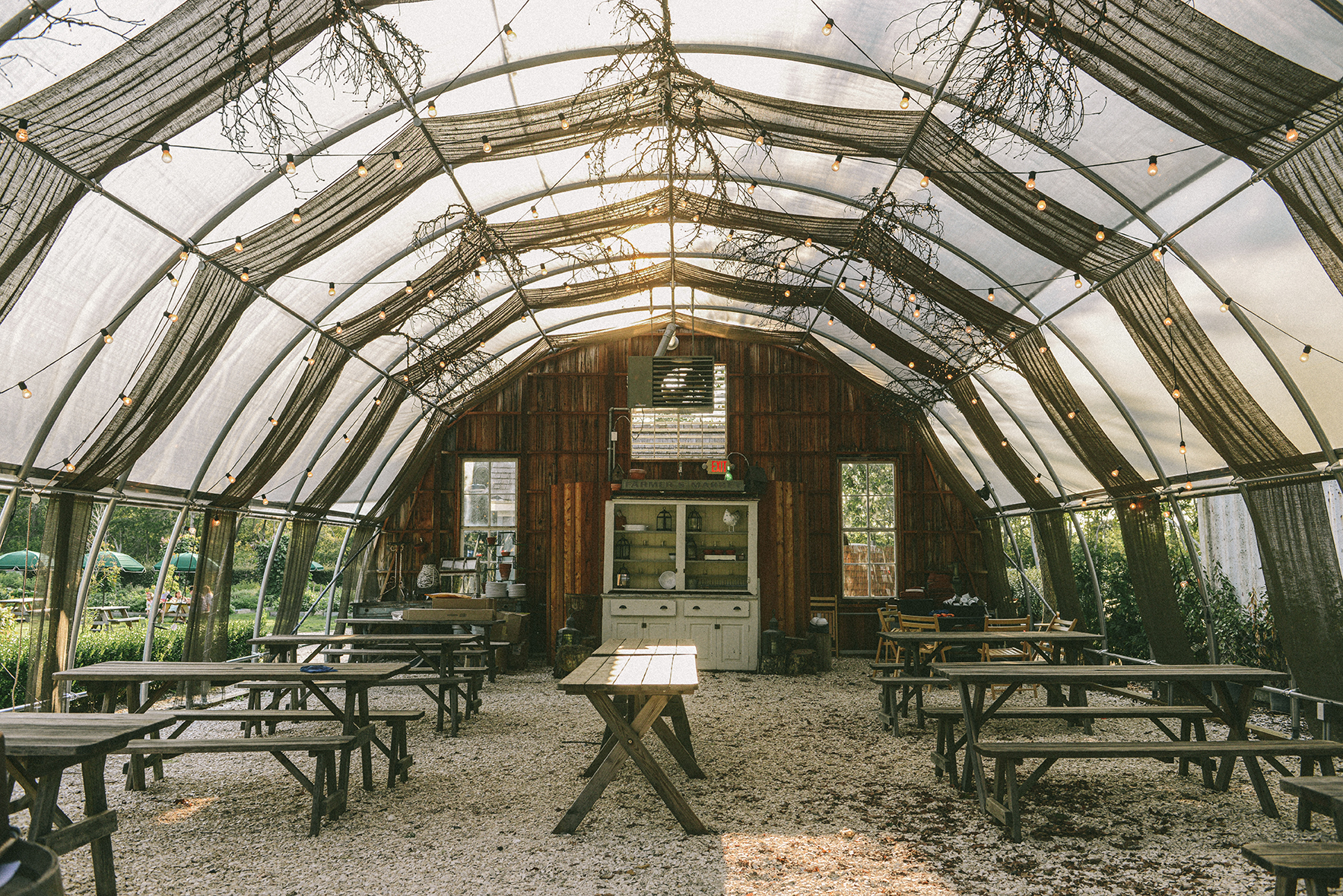 Beach Plum Farm in Cape May, NJ (ie: The Dreamiest Greenhouse Ever)