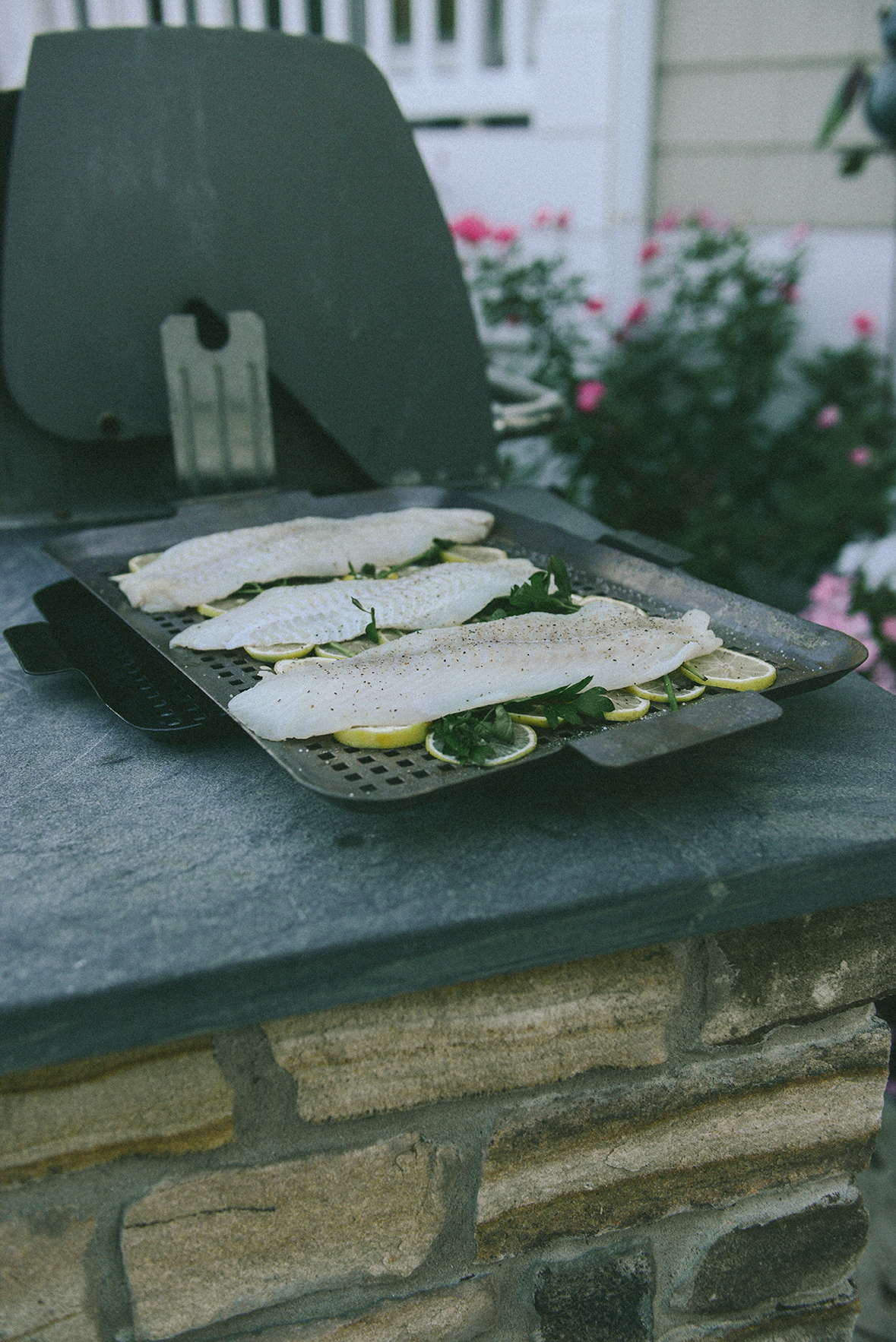 Grilled Fish for a Seafood Gathering // www.WithTheGrains.com