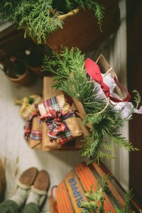 Christmas Wrappings // www.WithTheGrains.com