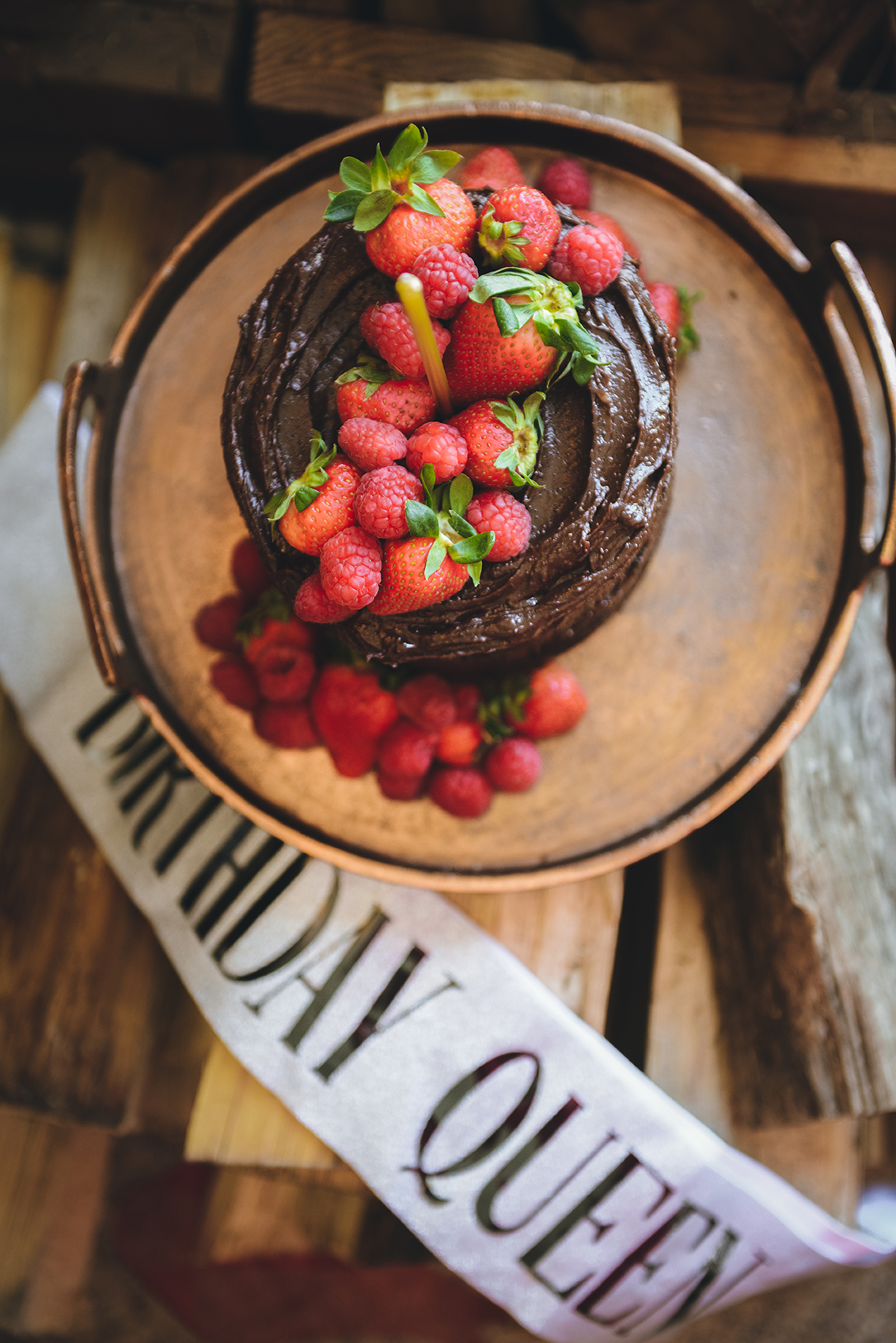 Gluten-Free Chocolate Avocado Cake // www.WithTheGrains.com
