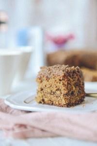 Gluten-Free Coffee Cake // www.WithTheGrains.com