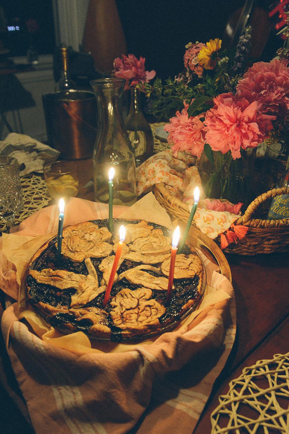 Birthday Pie // www.WithTheGrains.com
