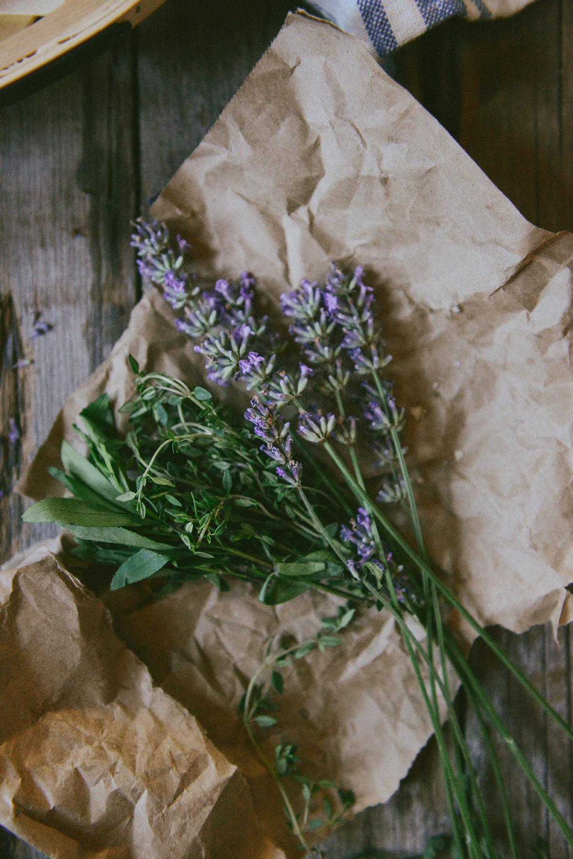 Garden Lavender // www.WithTheGrains.com
