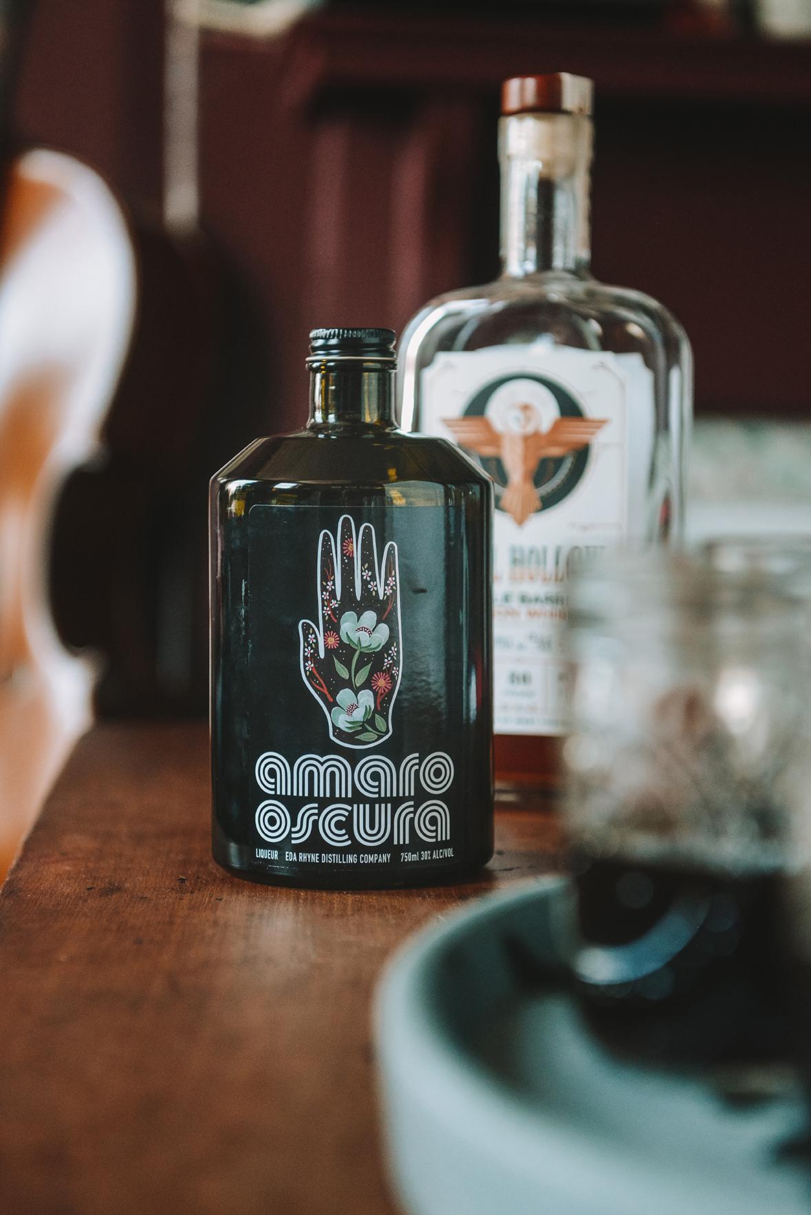 Appalachian Amaro from Eda Rhyne Distilling Co. // www.WithTheGrains.com