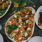 Summer Garden Party & Grilled Nectarine Pasta