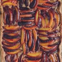 Gluten-Free Frangipane Tart with Plums & Nectarines