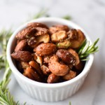 Rosemary Chipotle Spiced Nuts