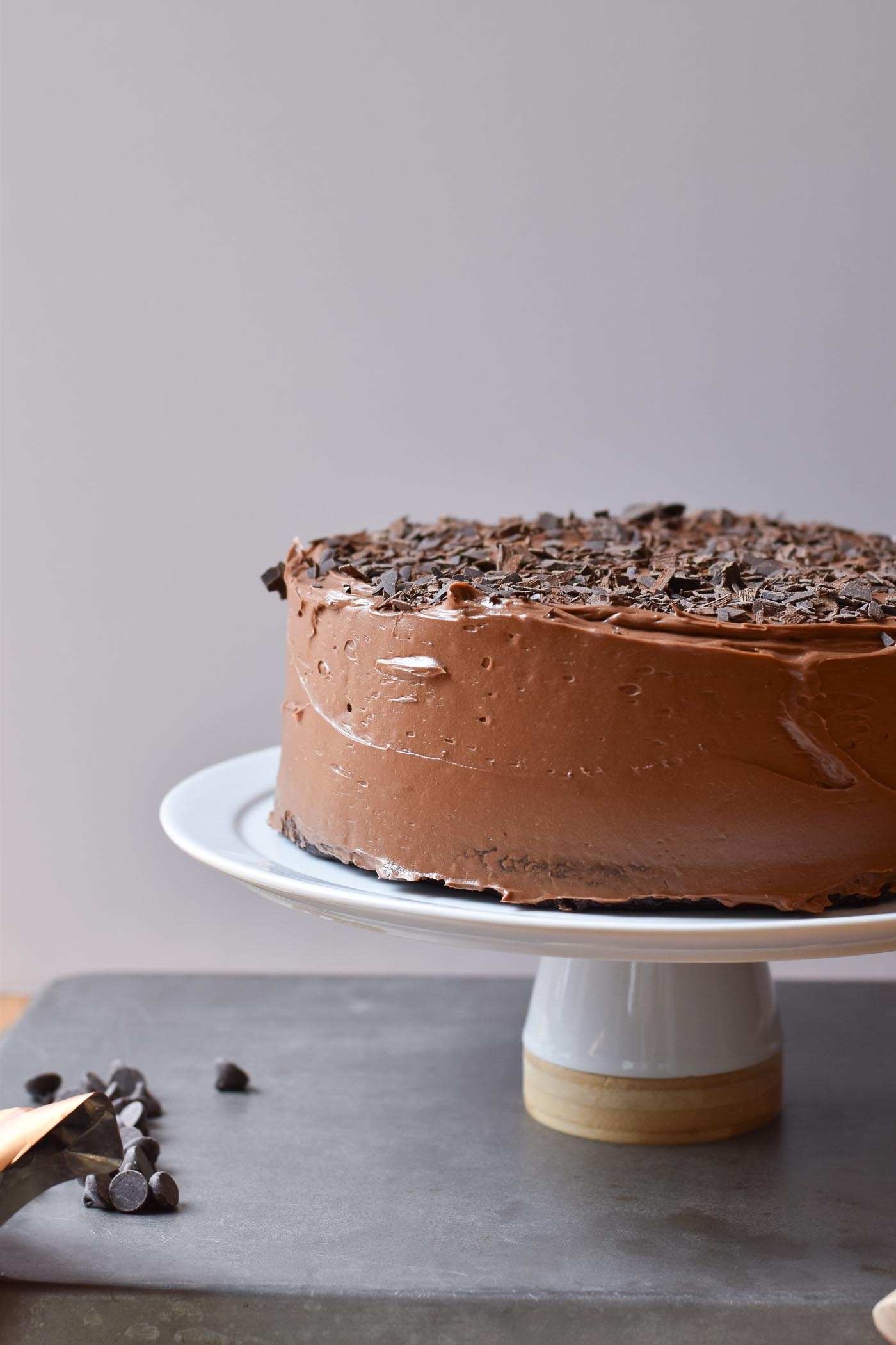 Chocolate Espresso Layer Cake