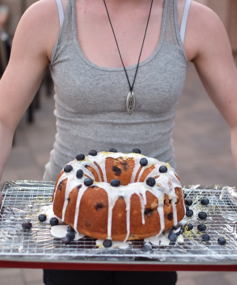 Lemon Blueberry Bundt Anna