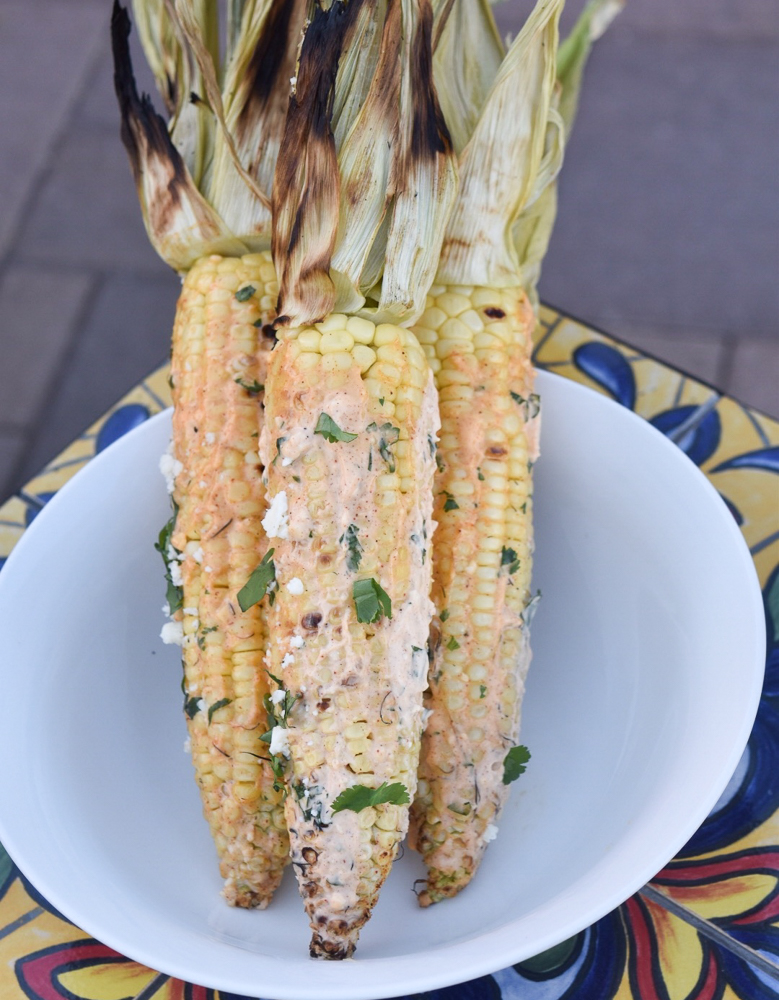 Mexican Street Corn in a bowl