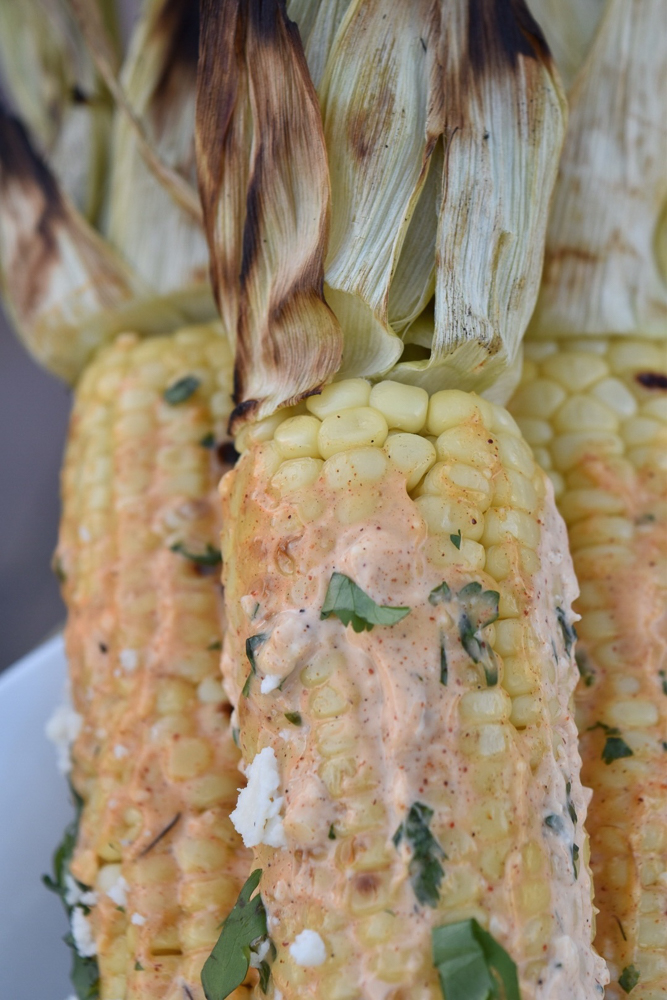 Mexican Corn closeup