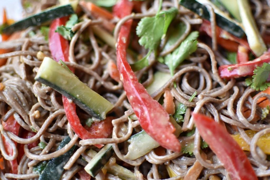 Peanut Vegetable Noodles