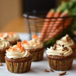 Fancy Carrot Cake Muffins