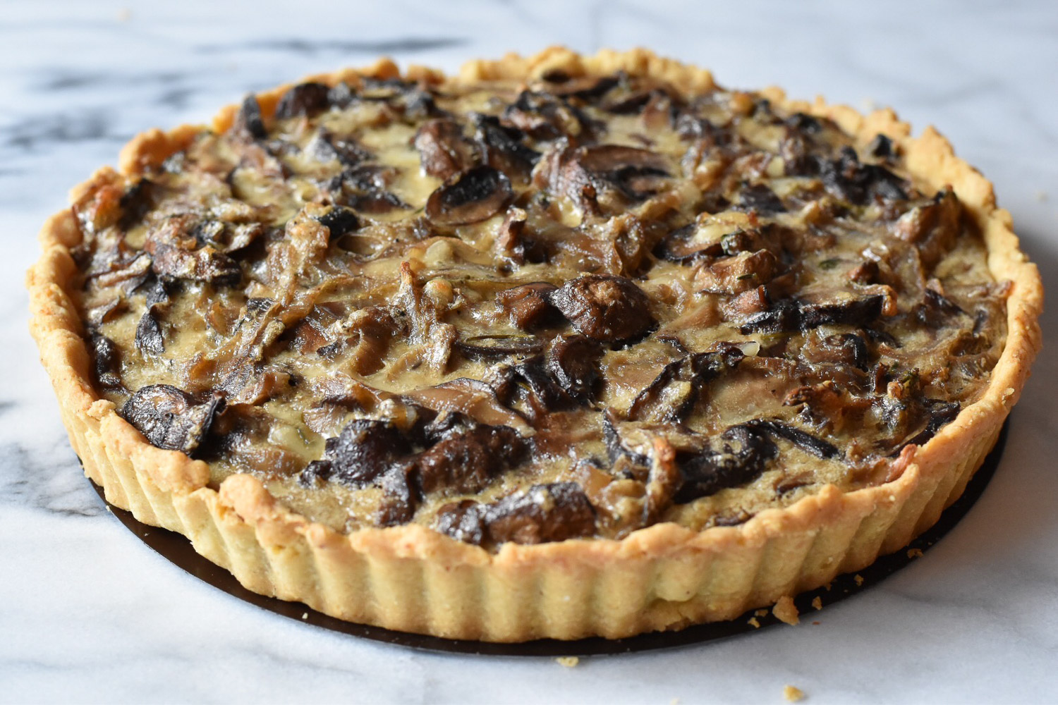 Mushroom Tart An Ode To Smitten Kitchen With Two Spoons
