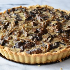 The Honest Kitchen Planner Mushroom Tart (an Ode To Smitten Kitchen)   With Two Spoons