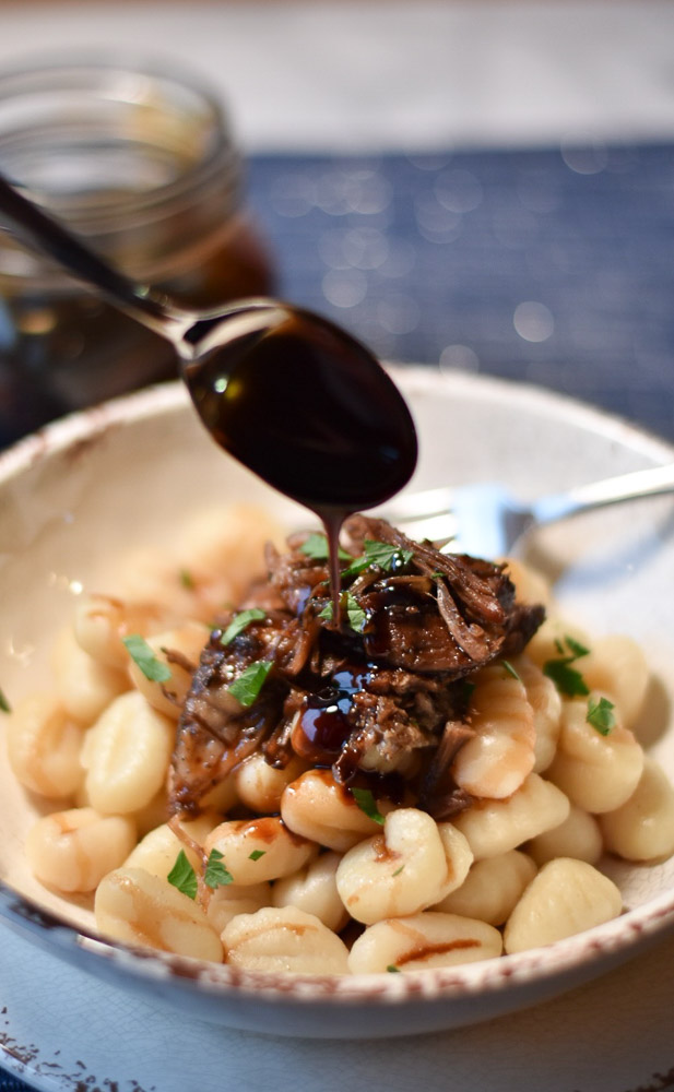 Balsamic Pork with Gnocchi