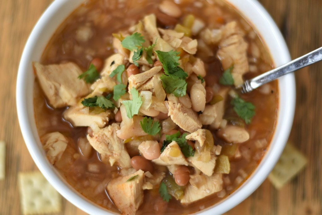 Maple Chicken Chili