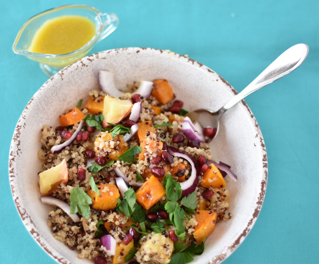 Roasted Squash and Quinoa Salad