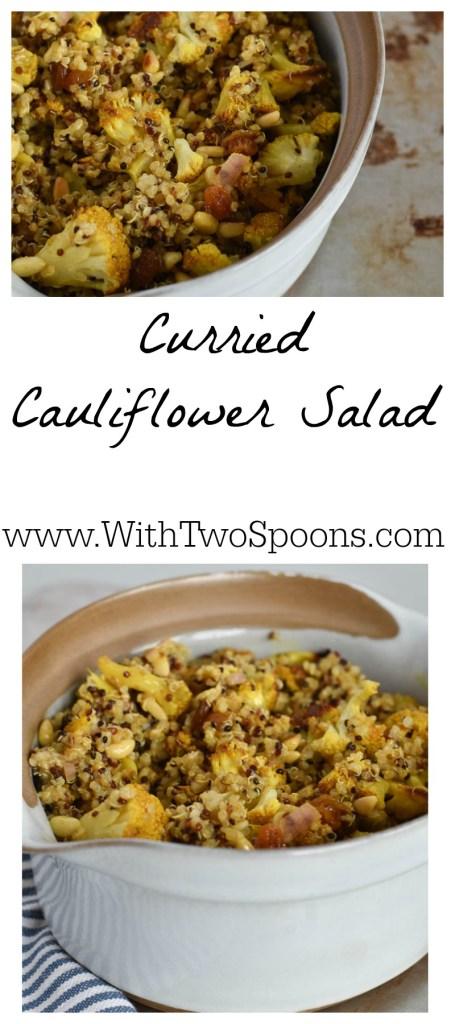 Curried Cauliflower Salad Pinterest