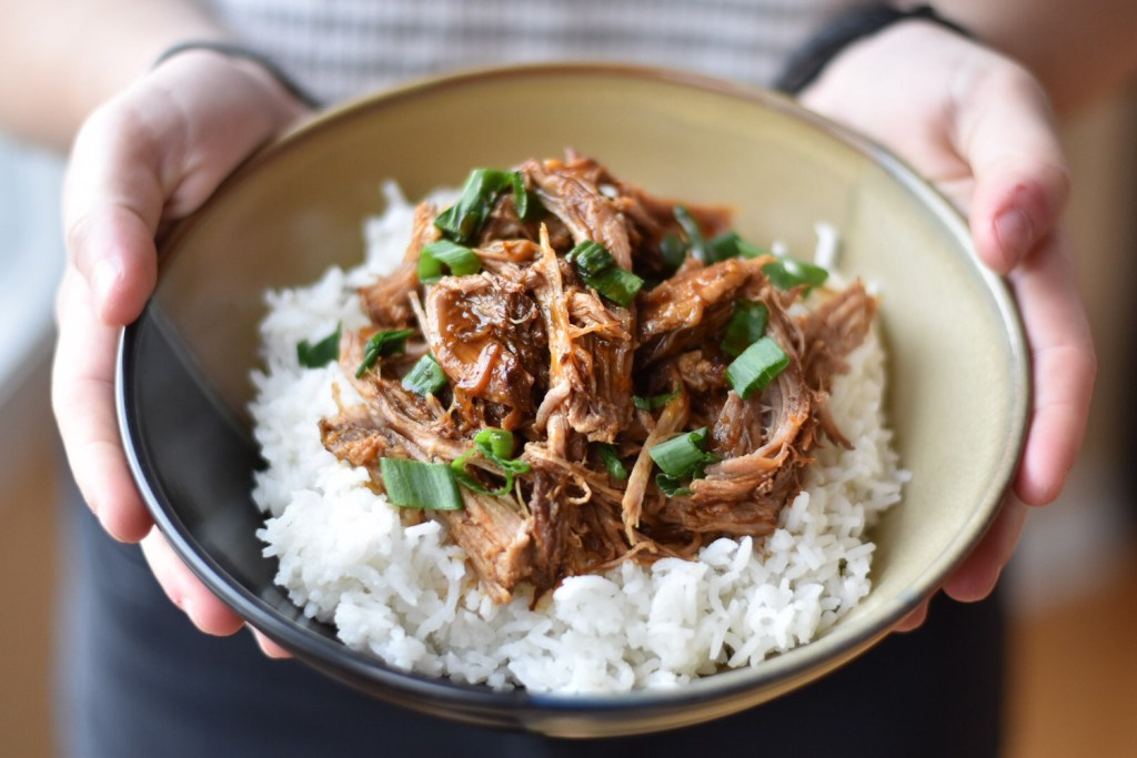 Good Food Reads Back to School Instant Pot Korean Inspired Pulled Pork