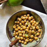 Roasted Chickpeas with a Hint of Lime