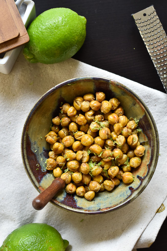 Chickpeas Lime