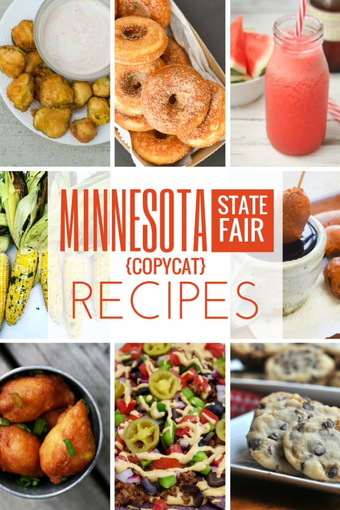Minnesota State Fair Recipes