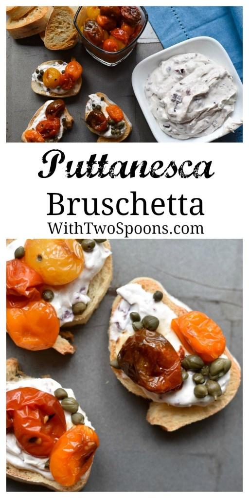 Puttanesca Bruschetta