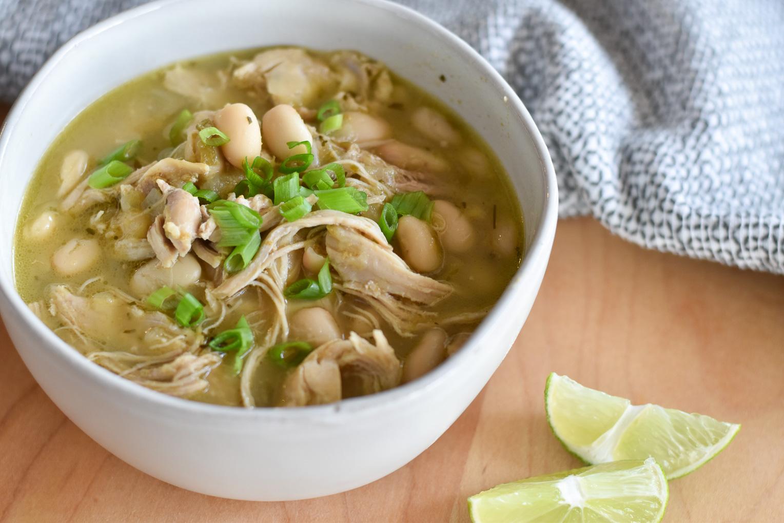 Good Food Reads Instant Pot Back to School InstantPot Salsa Verde Chicken Soup