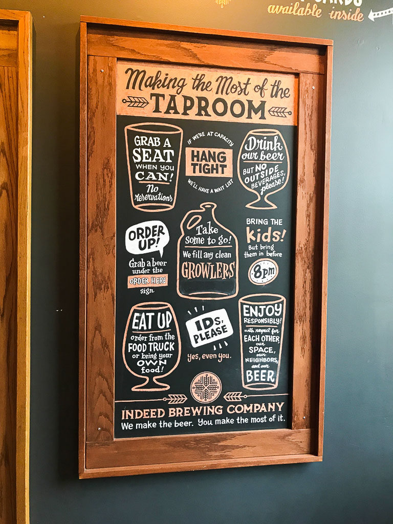 Indeed Brewing Company Taproom Northeast Minneapolis Brewery Tour