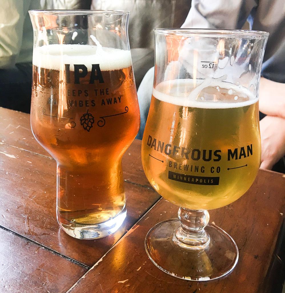 Dangerous Man Brewing Northeast Minneapolis Brewery Tour