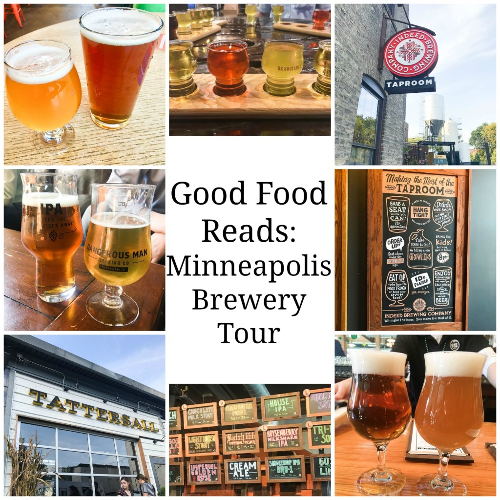 Northeast Minneapolis Brewery Tour Collage