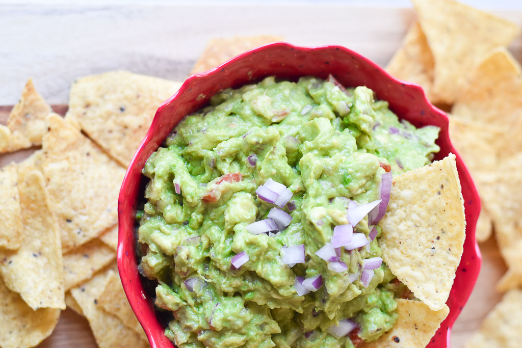 The Best Ever Fiesta Guacamole