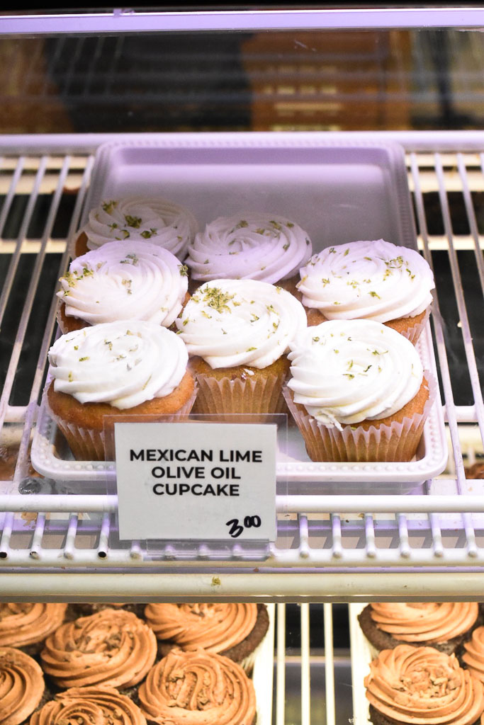 Queen Creek Olive Mill Mexican Lime Olive Oil Cupcakes