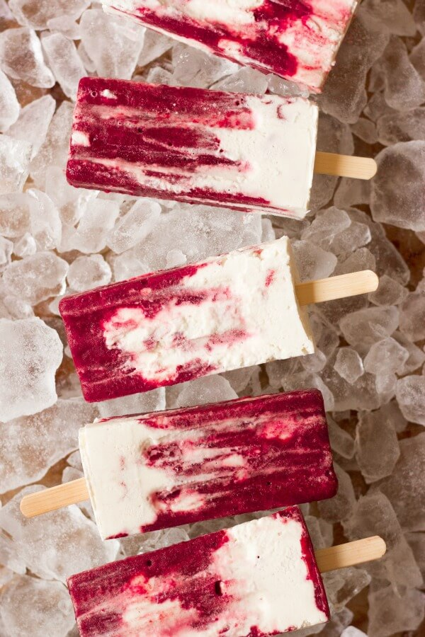Cherry Creamsicles by Recipes to Nourish. Popsicle and Sorbet Recipes