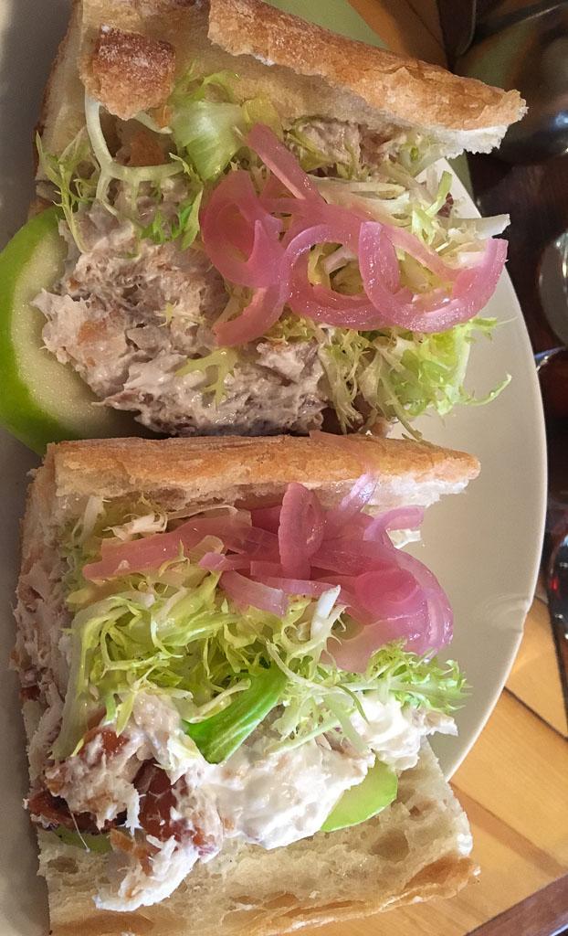 New York City Smoked Trout Sandwich