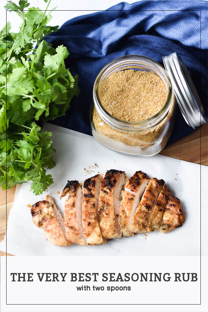 The very best seasoning rub long pin for pinterest