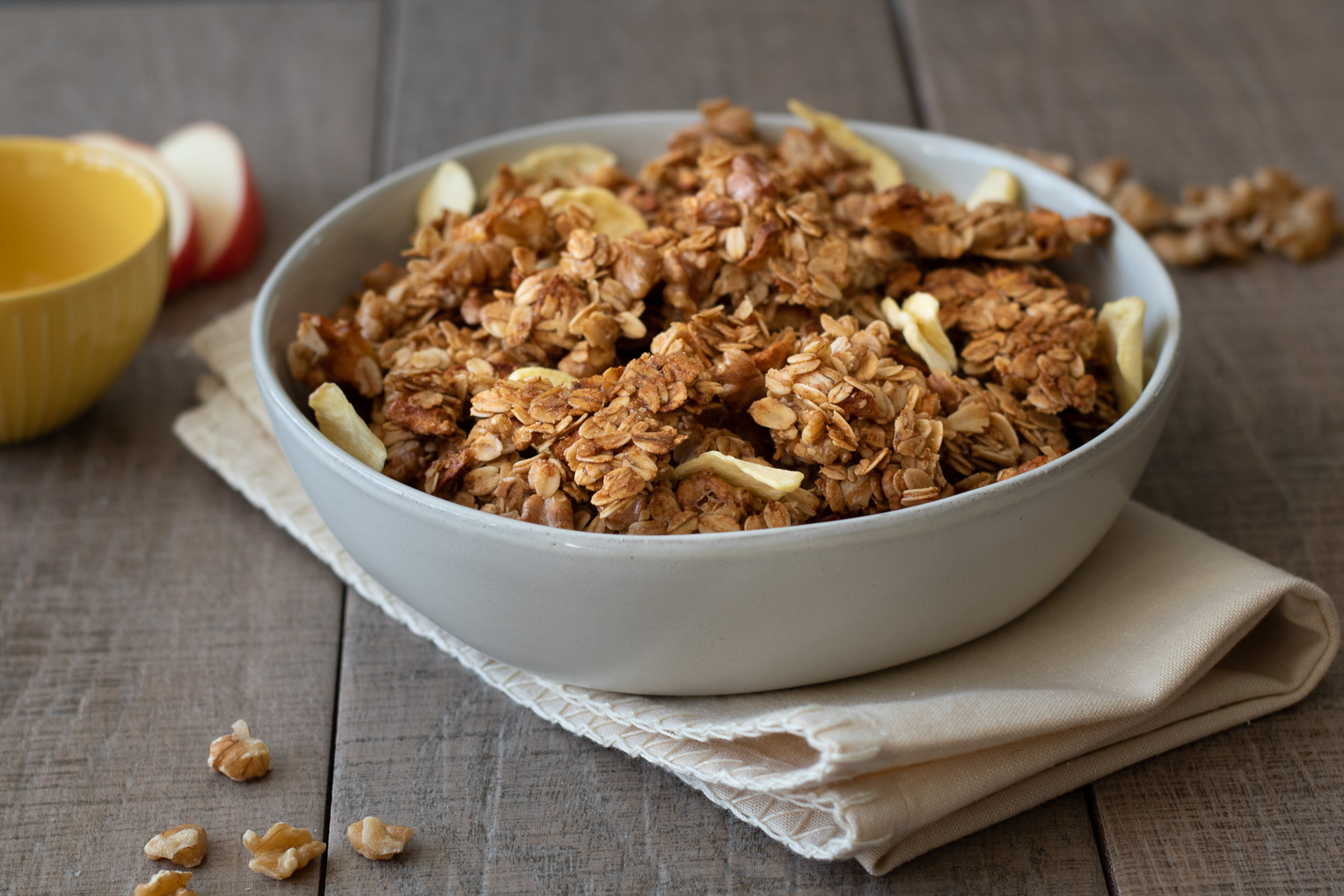 Apple Walnut Fall Granola