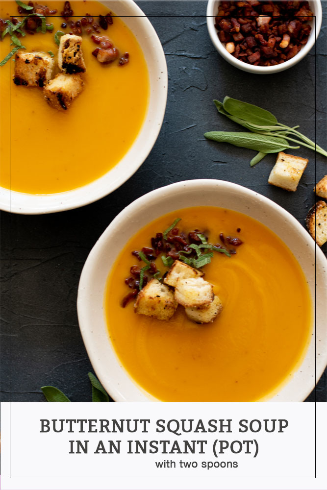 Butternut Squash Soup in an Instant (Pot)
