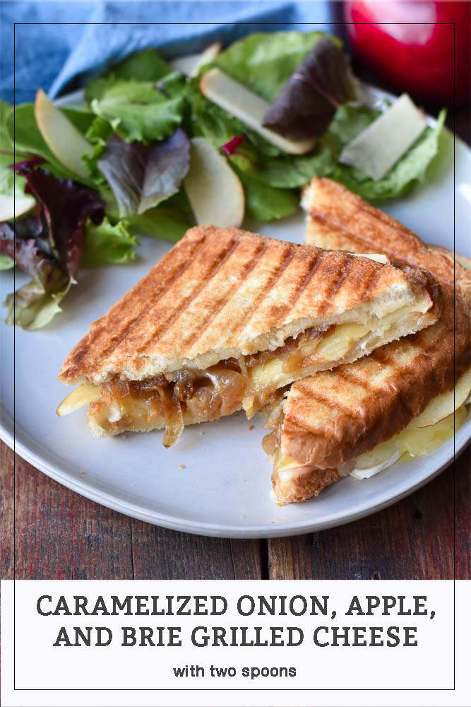 Caramelized Onion, Apple, and Brie Grilled Cheese Sandwiches Pinterest