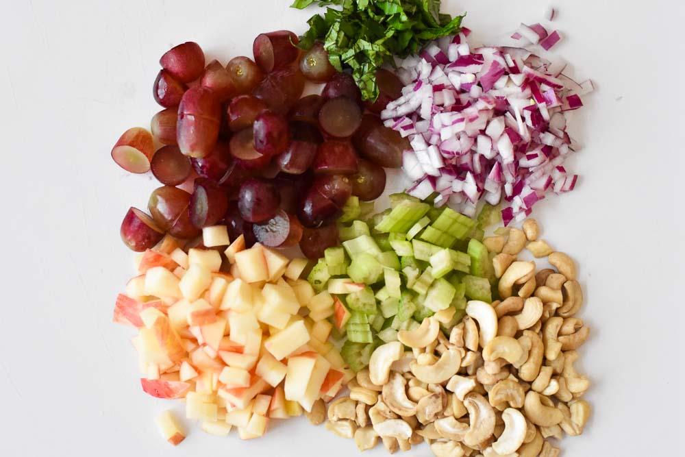 Waldorf Chicken Salad Ingredients (Whole30)