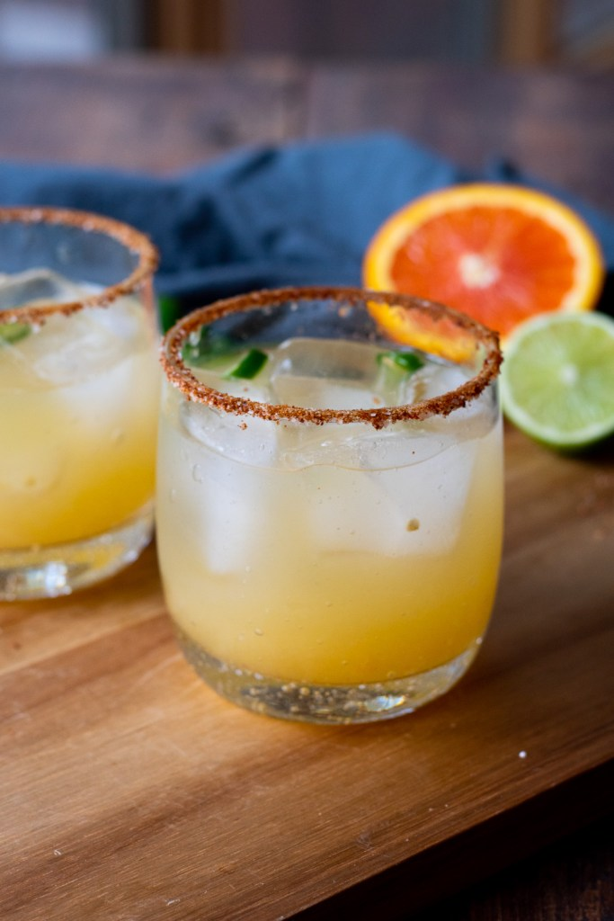 Skinny Chili Lime Margarita