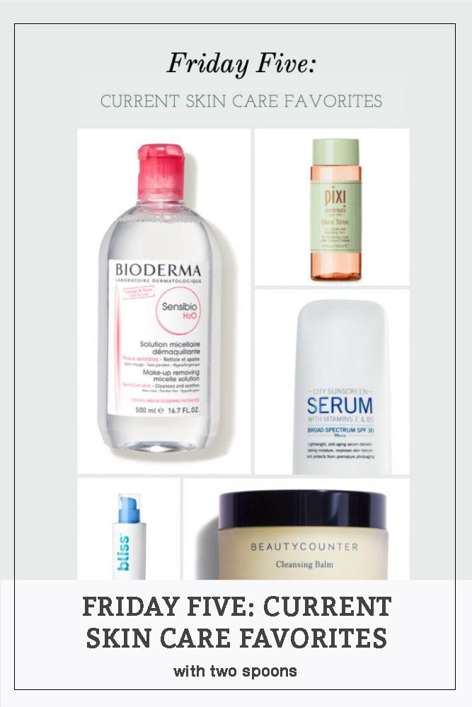 Skin Care favorites pinterest photo