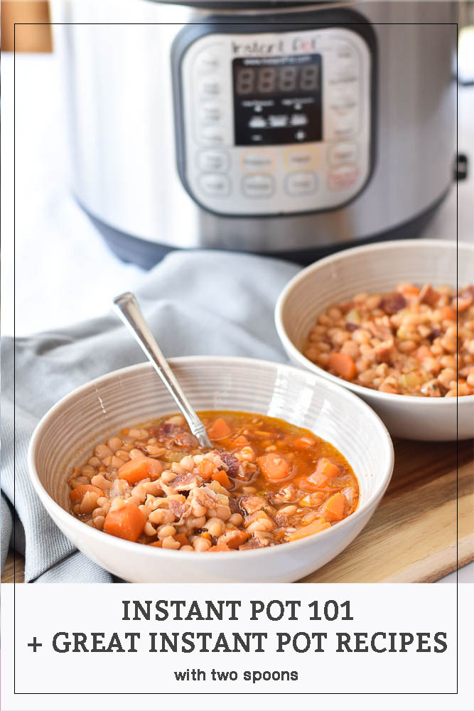 Instant Pot 101 and some great recipes