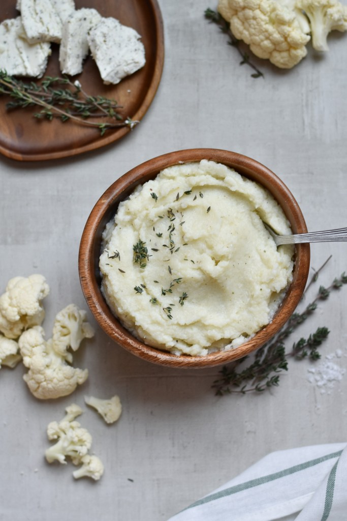 Instant Pot Herbed Cauliflower Mash