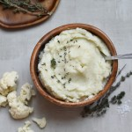 Instant Pot Herbed Cauliflower Mash (With Stovetop Instructions, too!)