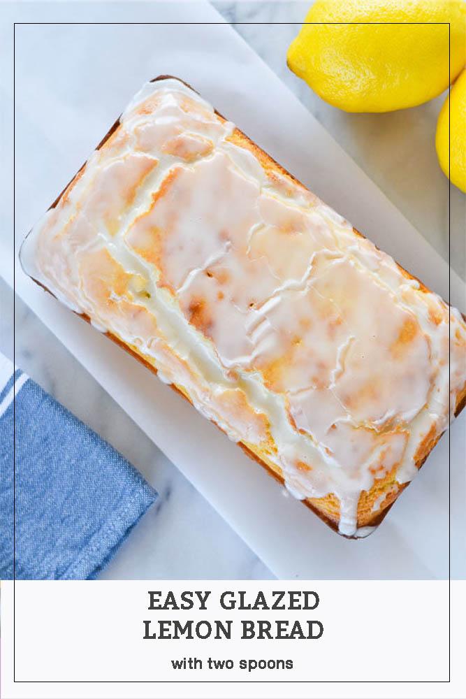 Long Pin Easy Glazed Lemon Bread