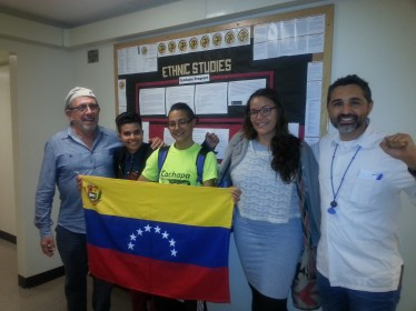 Ethnic Studies Department at San Francisco State University turned out more than 50 students to listen to the current events from Venezuela and the achievements and challenges for queer and feminist organizers.
