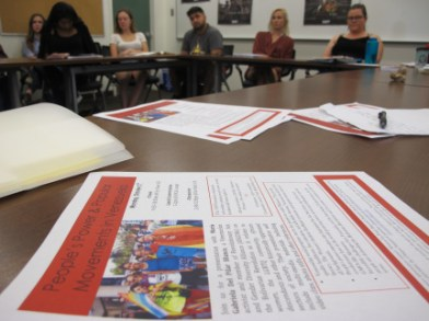Students at Scripps College and the wider Claremont Consortium participated in two days worth of events in classroom spaces. Student organizations also hosted a student of color and student organizers' lunch discussion.