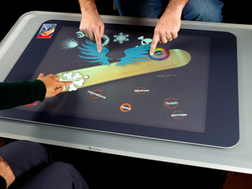 Microsoft Surface Touch Technology